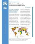 Urbanization and Sustainable Development in the Arab Region, Social Development Bulletin, Vol. 5, No. 4