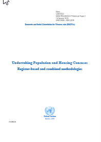 Undertaking Population and Housing Census Register-based and combined methodologies  cover