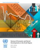 Survey of Economic and Social Developments in the Arab Region 2017-2018: Summary cover