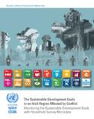 The Sustainable Development Goals in an Arab Region Affected by Conflict: Monitoring the Sustainable Development Goals with Household Survey Microdata cover