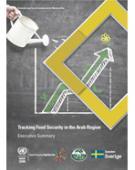 رصد ومتابعة الأمن الغذائي في المنطقة العربية: ملخص تنفيذي غلاف (بالإنكليزية)
