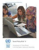 Unemployment of Young Women in the Arab Region: Causes and Interventions, Social Policy Brief, No. 8 cover