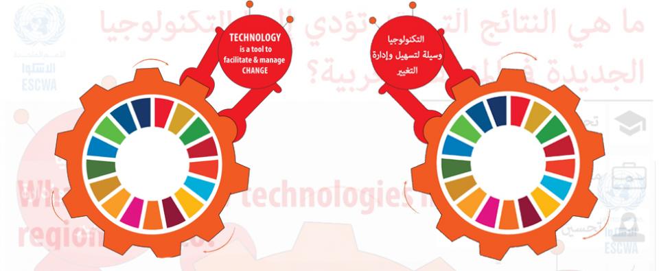 التكنولوجيات الرائدة، والأجندة 2030 في المنطقة العربية: آثارها على توظيف وتمكين الشباب \