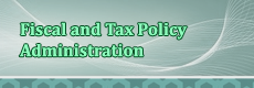 Fiscal and Tax Policy Administration image