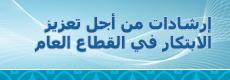إرشادات من أجل تعزيز الابتكار في القطاع العام في المنطقة العربية