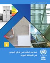 استدامة الطاقة في قطاع المباني في المنطقة العربية غلاف