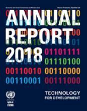 تقرير الاسكوا السنوي 2018 غلاف (بالإنكليزية)