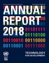 ESCWA Annual Report 2018 cover