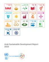 Arab Sustainable Development Report 2020 cover