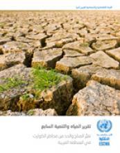 تقرير المياه والتنمية السابع: تغير المناخ والحد من مخاطر الكوارث في المنطقة العربية غلاف