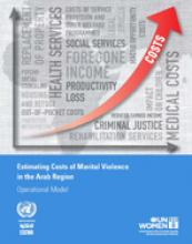 Estimating costs of marital violence in the Arab region: Operational Model cover