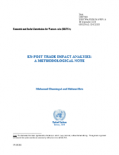 EX-POST TRADE IMPACT ANALYSIS: A METHODOLOGICAL NOTE