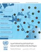 External Trade Bulletin of the Arab Region, No. 23 cover