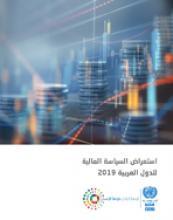 استعراض السیاسة المالیة للدول العربیة 2019 غلاف