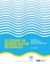 Glossary of Shared Water Resources cover