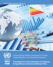 دليل لمطوري المشاريع بشأن إعداد خطط للاستثمار في الطاقة المتجددة غلاف (بالإنكليزية)