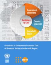 Guidelines to Estimate the Economic Cost of Domestic Violence in the Arab region cover