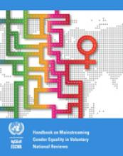 Guidelines for Mainstreaming Gender Equality in Voluntary National Reviews cover