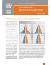 Harnessing the Demographic Dividend: Social Development Bulletin Vol 6, No. 2 cover