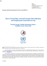 Macro-Fiscal Policy toward Economic Diversification and Employment Generation in Iraq