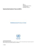 Multidimensional Poverty Profile: Jordan cover