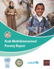 Arab Multidimensional Poverty Report cover
