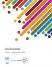 الحكومة المفتوحة: أداة إشراك المواطنين غلاف (بالإنكليزية)