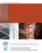 Case Study on Policy Reforms to Promote Renewable Energy in Jordan cover