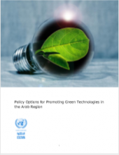 Policy Options for Promoting Green Technologies in the Arab Region COVER