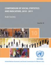Compendium of Social Statistics and Indicators: Arab Society, No. 10 cover