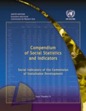 Compendium of Social Statistics and Indicators, Social Indicators of the Commission of Sustainable Development, No. 8 cover
