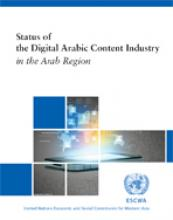 Status of the Digital Arabic Content Industry in the Region