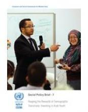 Reaping the Rewards of Demographic Transitions: Investing in Arab Youth, Social Policy Brief, No. 7 cover