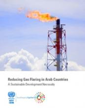 تقليص حرق الغاز على الشعلة في الدول العربية - ضرورة لتنمية مستدامة غلاف (بالإنكليزية)