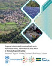 Assessment Report of Prevailing Situations in Rural Areas in Lebanon cover