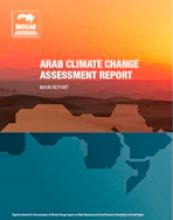 RICCAR Arab Climate Change Assessment Report cover