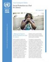 Social Protection as a Tool for Justice, Social Development Bulletin, Vol. 5, No. 2