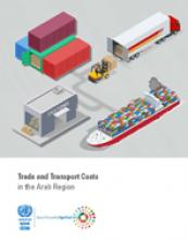 Trade and transport costs in the Arab region cover