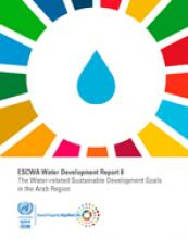 ESCWA Water Development Report 8: The Water-related Sustainable Development Goals in the Arab Region cover