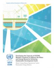 Water-Energy Nexus Operational Toolkit: Renewable Energy Module cover