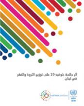 أثر جائحة كوفيد-19 على توزيع الثروة والفقر في لبنان غلاف