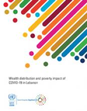 Wealth distribution and poverty impact of COVID-19 in Lebanon cover