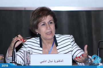 الدكتورة نبال إدلبي، رئيسة قسم الابتكار في الإسكوا