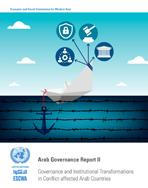 Arab Governance Report II: Governance and Institutional Transformations in Conflict-affected Arab Countries cover