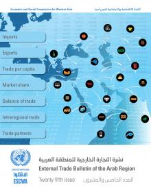 External Trade Bulletin of the Arab Region, No. 25 cover