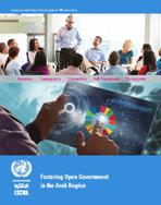 Fostering Open Government in the Arab region cover