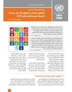 القانون الدولي لحقوق الإنسان وخطة التنمية المستدامة لعام 2030: نشرة التنمية الاجتماعية، المجلد 6، العدد 3 غلاف