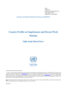 Country Profile on Employment and Decent Work: Palestine