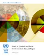 Survey of Economic and Social Developments in the Arab Region 2015-2016 cover