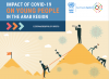 graphic cover of the policy brief on the impact of COVID19 on young people